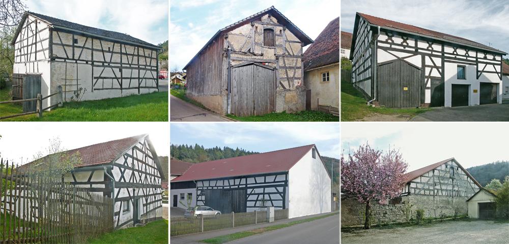 Jurahaus, Kinding, Enkering
